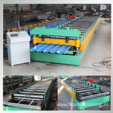 Metal IBR sheet roll forming machine